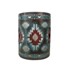 See Details - Colorful Aztec Rustic Southwestern Wall Sconce