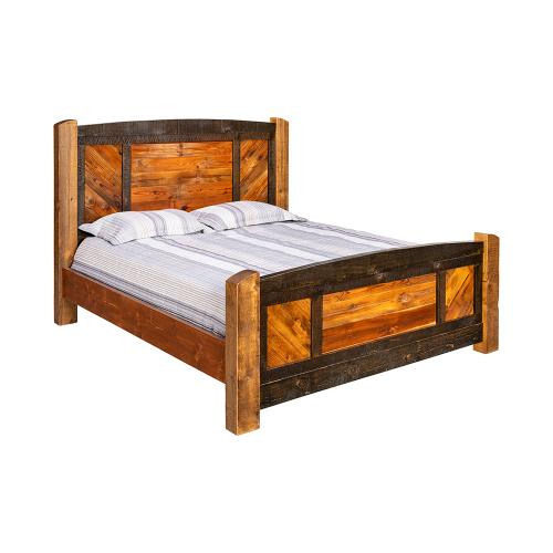 Mossy Oak Bed - California King Bed (complete)