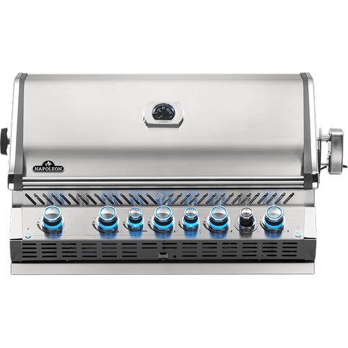 Built-in Prestige PRO 665 RB with Infrared Rear Burner , Stainless Steel , Propane