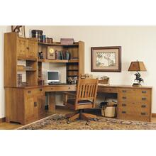 Corner Keyboard Drawer Desk Units