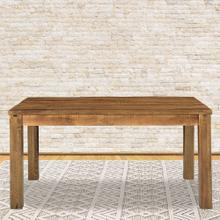 Hanover Ravenna Mango Wood Dining Table in Natural, 60-In. W x 36-In. D x 30-In. H, HDR002-NAT