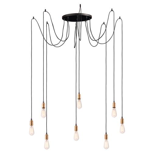 Early Electric 8-Light Pendant