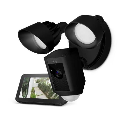 Floodlight Cam with Echo Show 5 - White