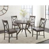Alamo 5 Piece Set (Table & 4 Side Chairs)