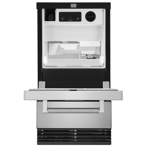 Product Image - 18'' Automatic Ice Maker - Stainless Steel