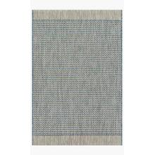View Product - IE-03 Grey / Blue Rug