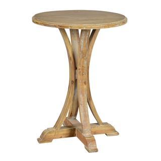 See Details - Zach Side Table (medium Brown Wash)