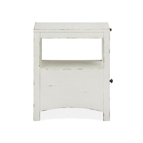 Magnussen Home - Chairside End Table - White