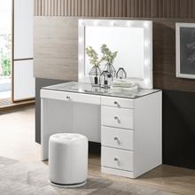 Morgan Vanity Base White
