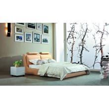 Modrest 702X - Modern Eco-Leather Bed