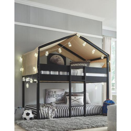 Gallery - Flannibrook Twin Over Twin House Loft Bed