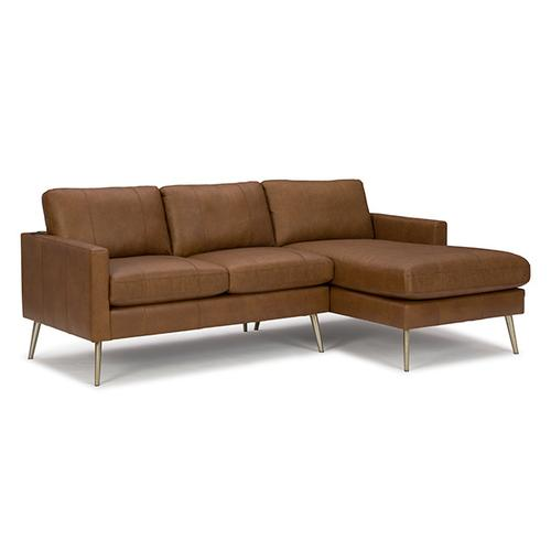 TRAFTON LEATHER CHOFA Stationary Sofa