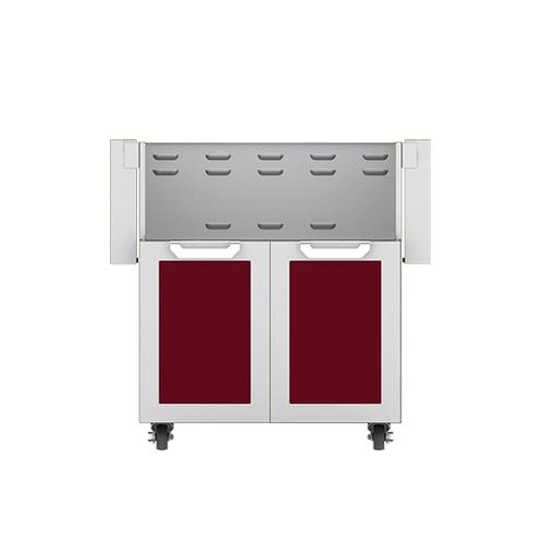 """Hestan - 30"""" Hestan Outdoor Tower Cart with Double Doors - GCD Series - Tin-roof"""