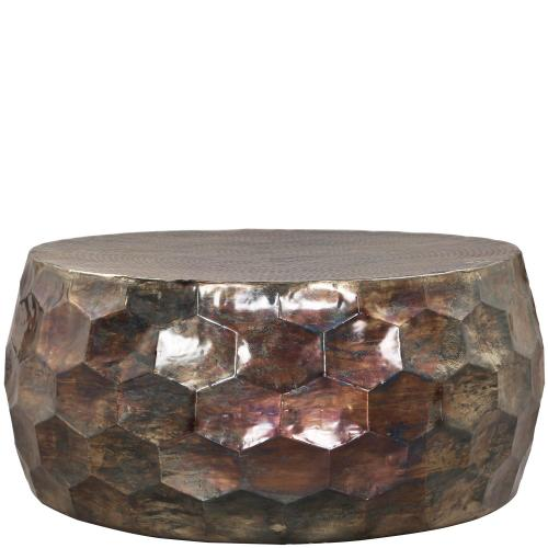 Honeycomb Coffee Table - Oilslick Finish