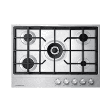 "Gas on Steel Cooktop, 30"", LPG"