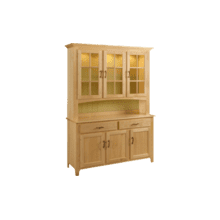 Shaker Hutch Three Full Length Doors
