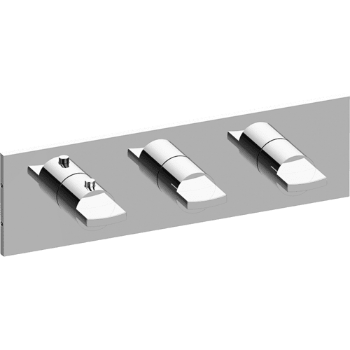 M-Series Valve Trim with Three Handles - Trim only