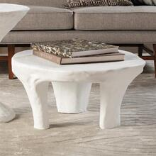 Monolith Coffee Table-Soft White