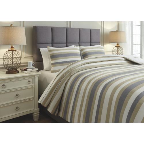 Isaiah 3-piece Queen Comforter Set