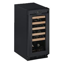 "Black Field reversible 1000 Series / 15"" Wine Captain® / Signature Triple Temperature Zone Design"