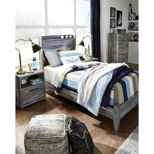 Baystorm Twin Panel Bed