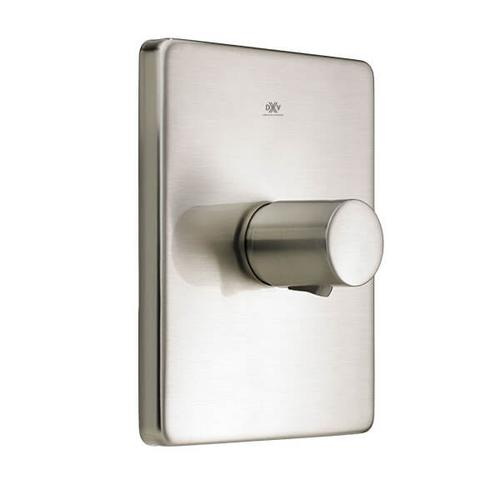 Dxv - Rem 1/2 Inch or 3/4 Inch Thermostatic Valve Trim - Brushed Nickel
