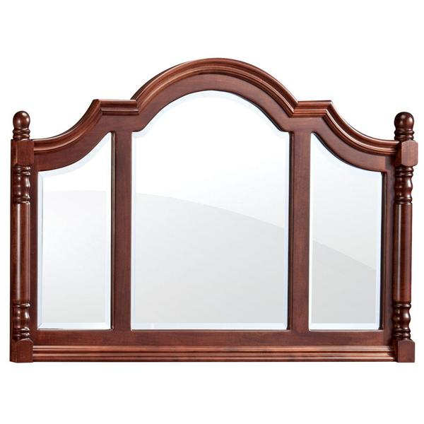 See Details - Savannah Deluxe Bureau Mirror, 64'w x 33'h