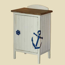 """See Details - """"Shoreline"""" Anchor Commode"""