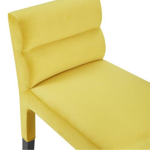 Tov Furniture - Taylor Burnt Gold Velvet Barstool