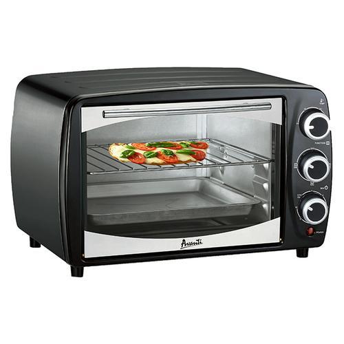 Avanti - 0.6 Cu. Ft. Countertop Oven/Broiler