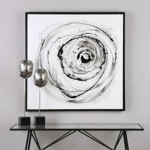 Eye On The World Hand Painted Canvas