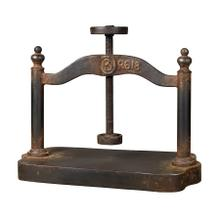 See Details - CAST IRON BOOK PRESS