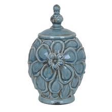View Product - Medium Flower Lidded Vase