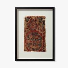 See Details - 0351760012 Vintage Rug Fragment Wall Art
