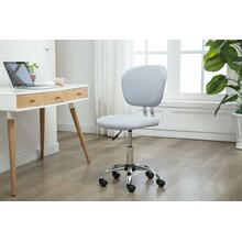1135 LIGHT GRAY Mesh Armless Office Chair