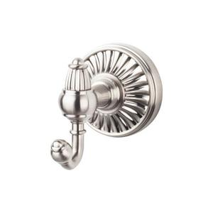 Top Knobs - Tuscany Bath Double Hook Brushed Satin Nickel