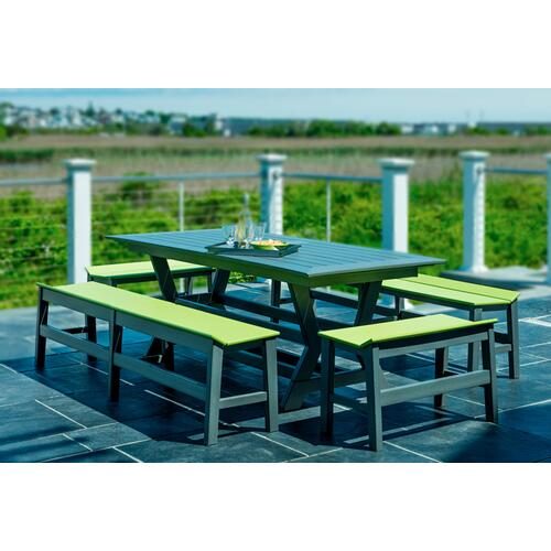 Seaside Casual - Sym Dining Bench (215)