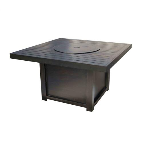 "Monaco 42"" Square Outdoor Fire Pit"