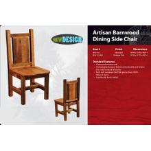Artisan Barnwood Dining Side Chair