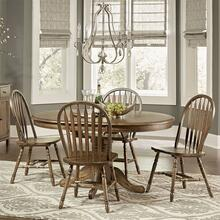 CAROLINA CROSSING 5 Piece Pedestal Dining Set     (72990,72991,72989)