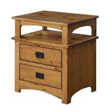 See Details - Mission 2-Drawer Nightstand