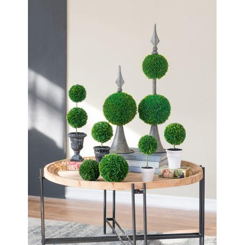 Gallery - Two-Tier Round Faux Topiary