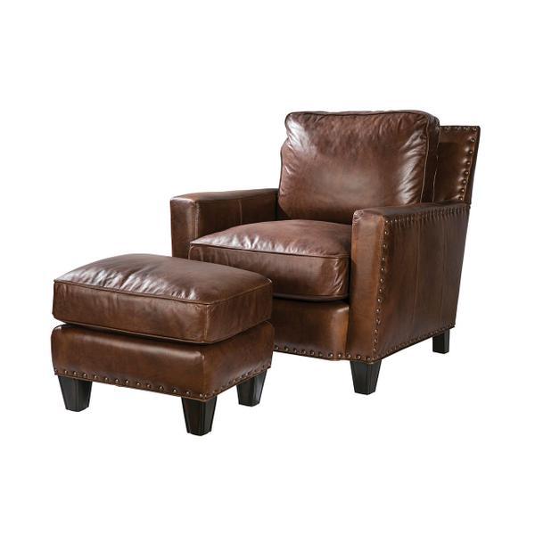 See Details - Alvarado Chair in Gunner Coffee