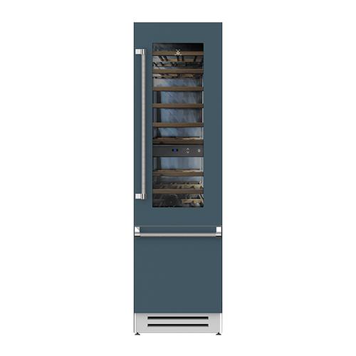 "Hestan - 24"" Wine Refrigerator - KRW Series - Pacific-fog"