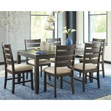 Rokane - Brown 7 Piece Dining Room Set