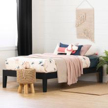 Solid Wood Platform Bed - 39''