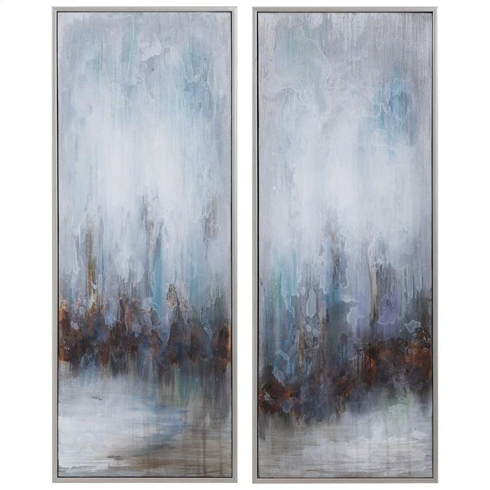 Uttermost - Rainy Days Hand Painted Canvases, S/2