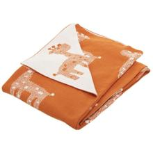 Titan Throw - Orange / Natural
