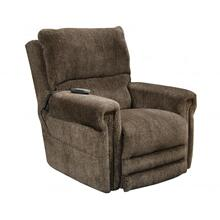 Warner Power Headrest w/Lumbar Power Lay Flat Lift Recliner in Tiger's Eye Chenille Fabric