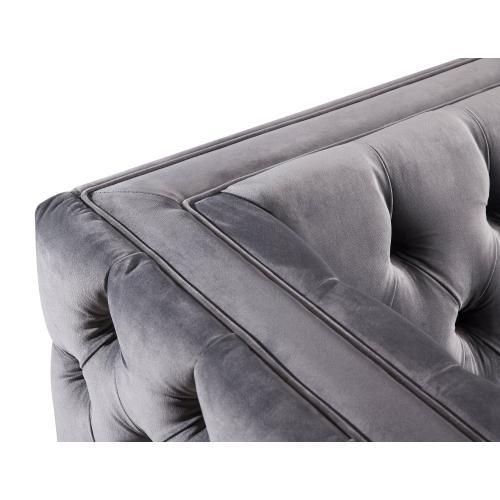 Product Image - Rimini Grey Velvet Sofa